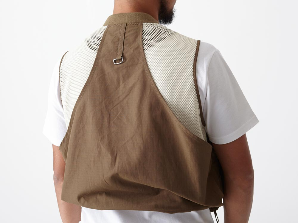 Utility Fishing Vest #2 1 Brown8
