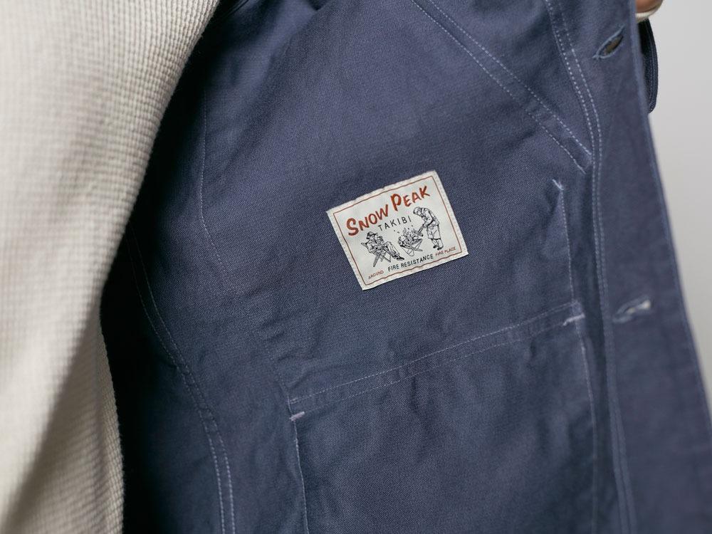 TAKIBI Coverall Jacket S Olive1