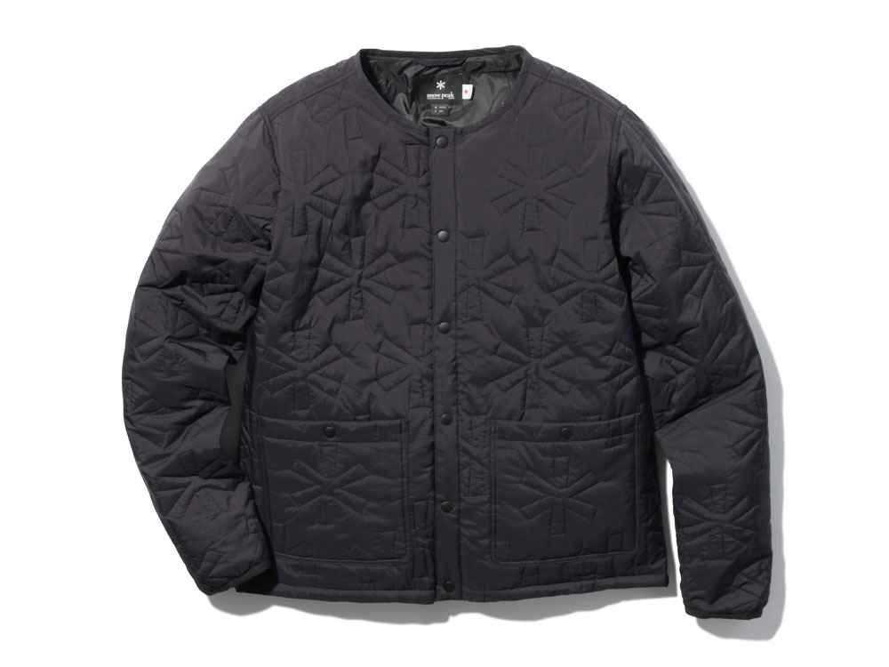 Quilting puff Jacket L Black0