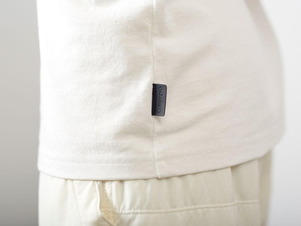 タイポグラフィカルティーシャツ♯1  L ホワイト