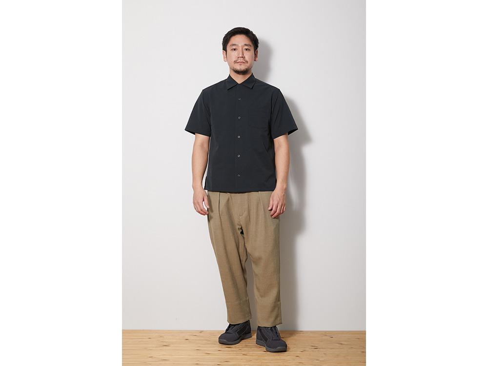 Quick Dry Aloha Shirt M Olive