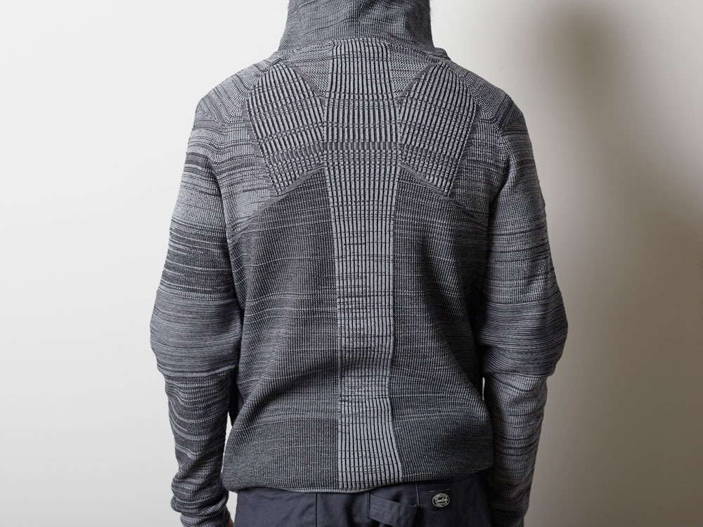 WG Stretch Knit Jacket #3 1 Grey8