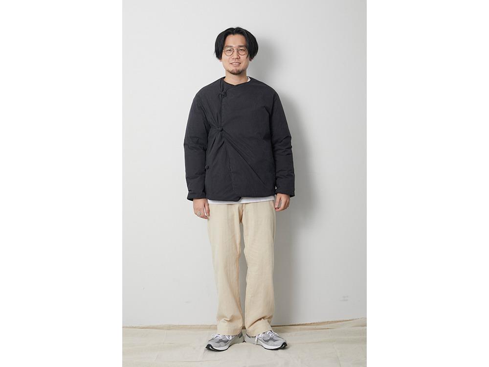 Indigo C/N Down Jacket XL Indigo