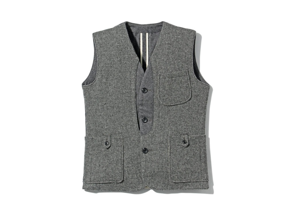 Camping Wool Vest M Grey0