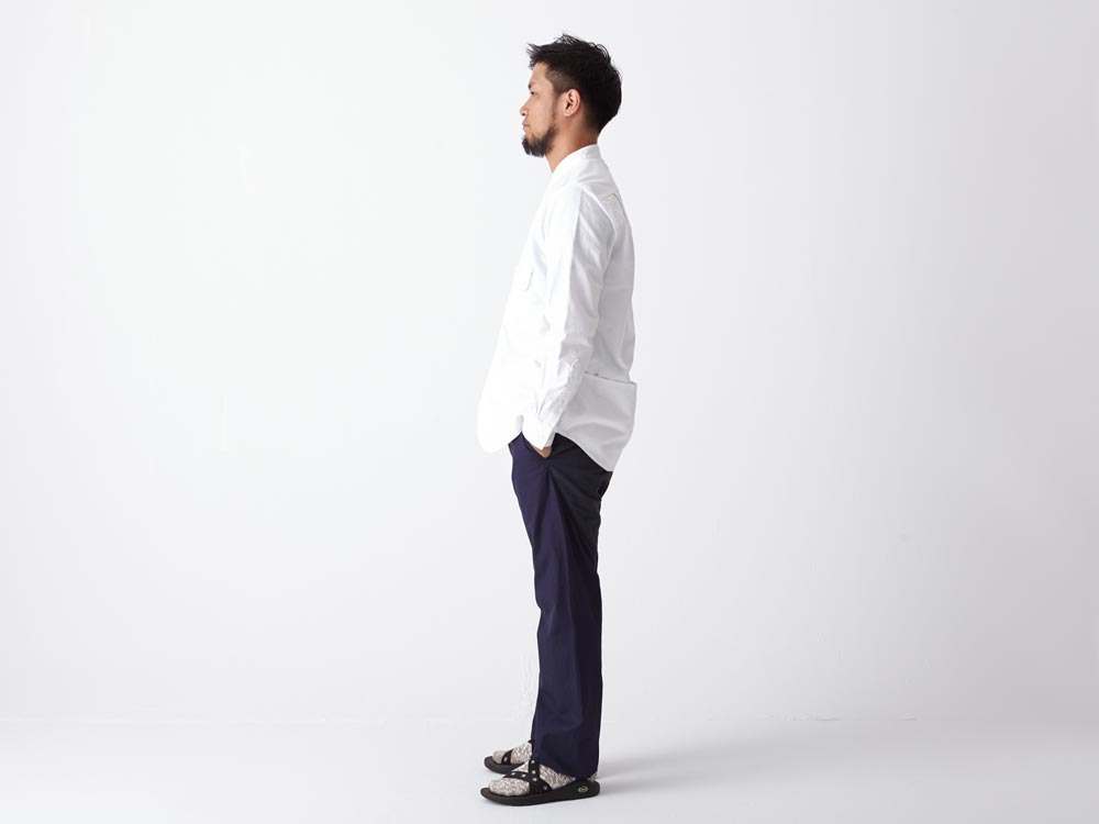 Field Utility Shirt M White3