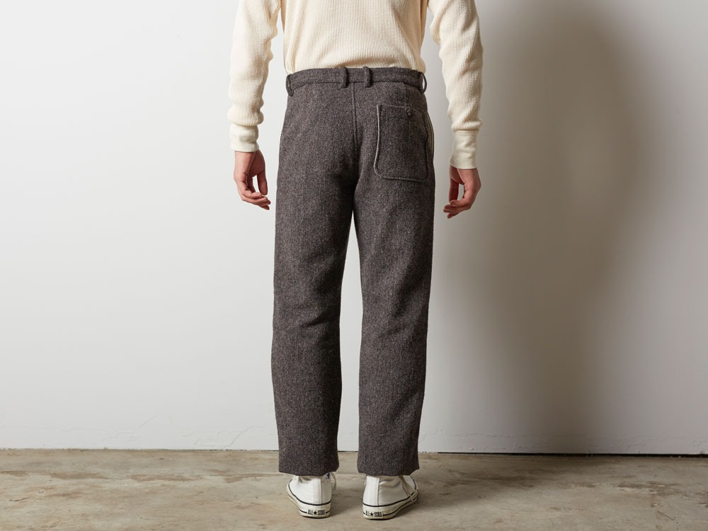 Camping Wool Pants M Brown4