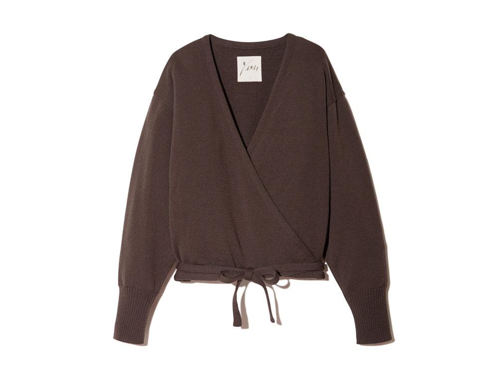 OG Wool Knit Cardigan 2 Brown