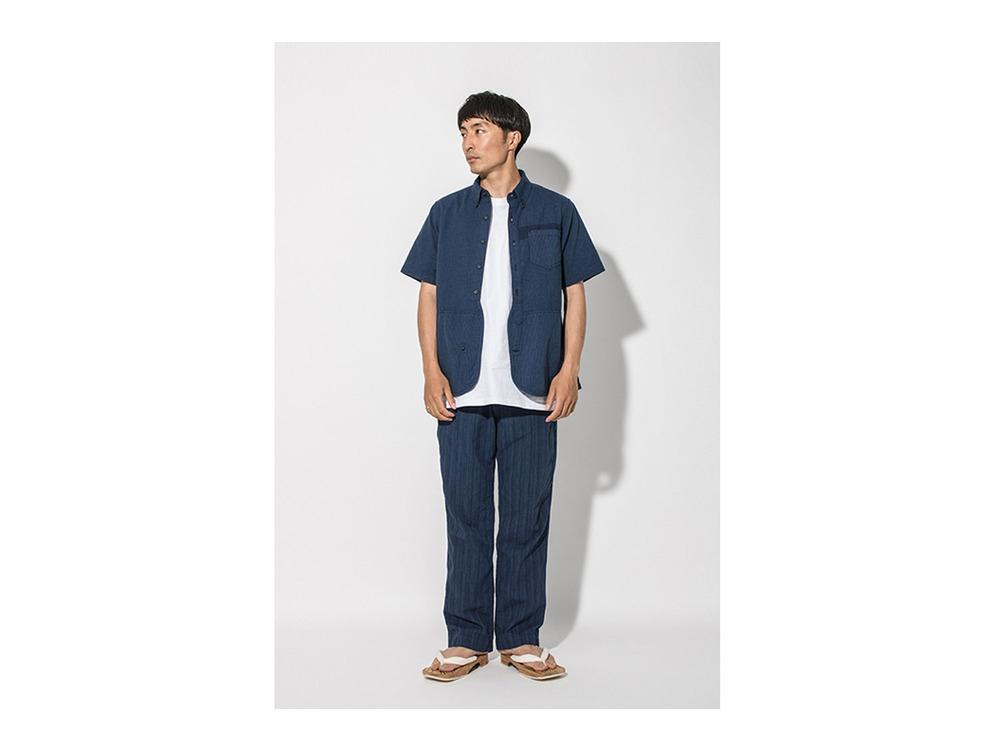 現代のワークシャツS/S  XL Blue