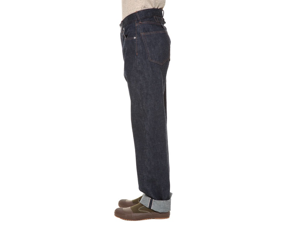 Selvage  Denim Pants Slim Fit36 Stone Wash3