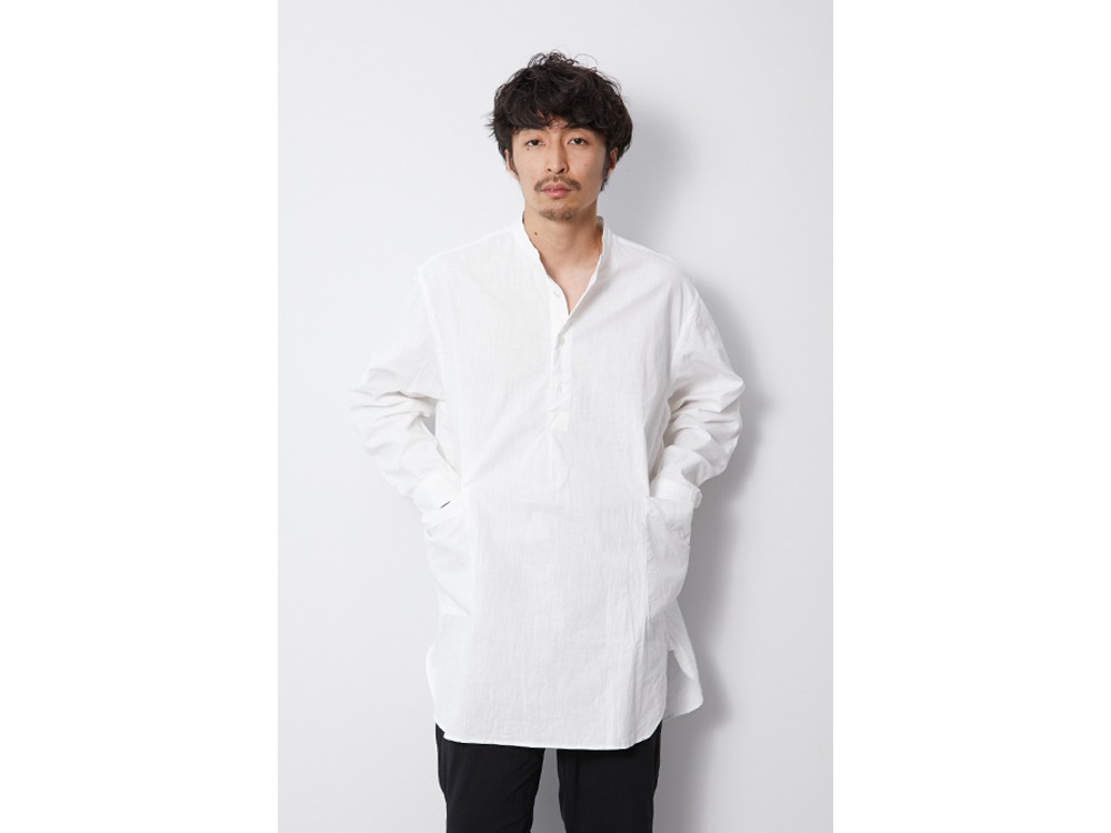 OG Cotton Poplin Sleeping Shirt XL BK