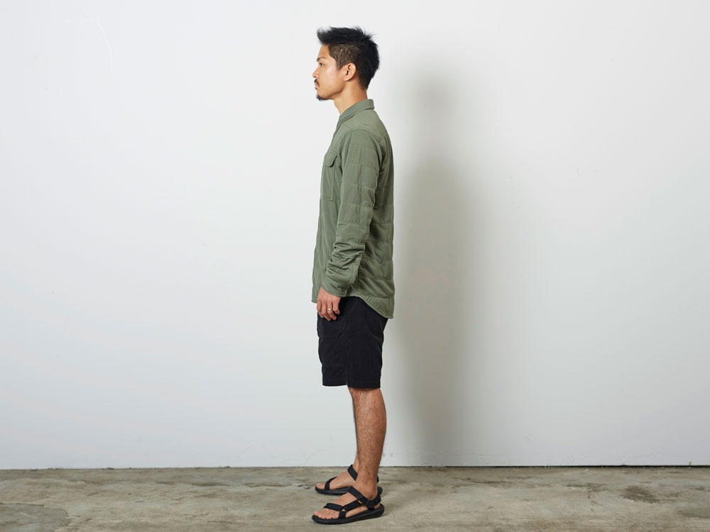 FlexibleInsulatedShirt  L Olive2