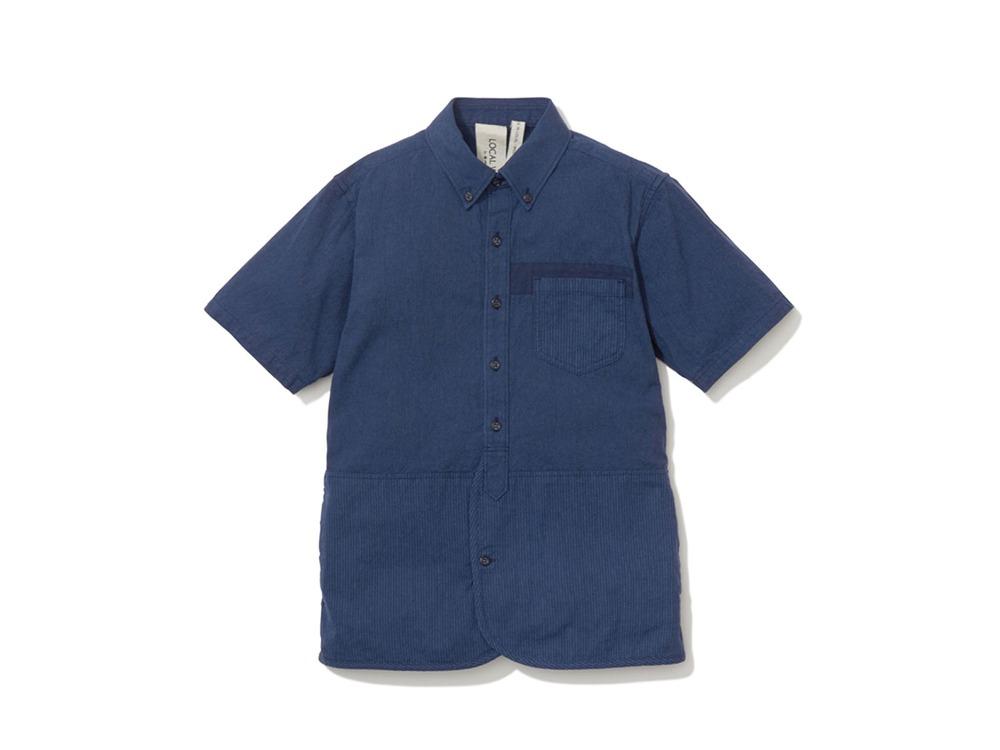 現代のワークシャツS/S  S/XS Navy