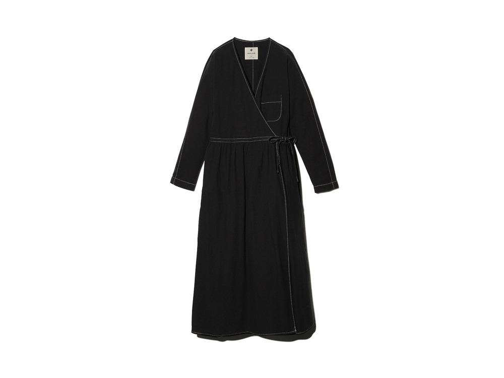 ナシジ ラップドレス 1 Black