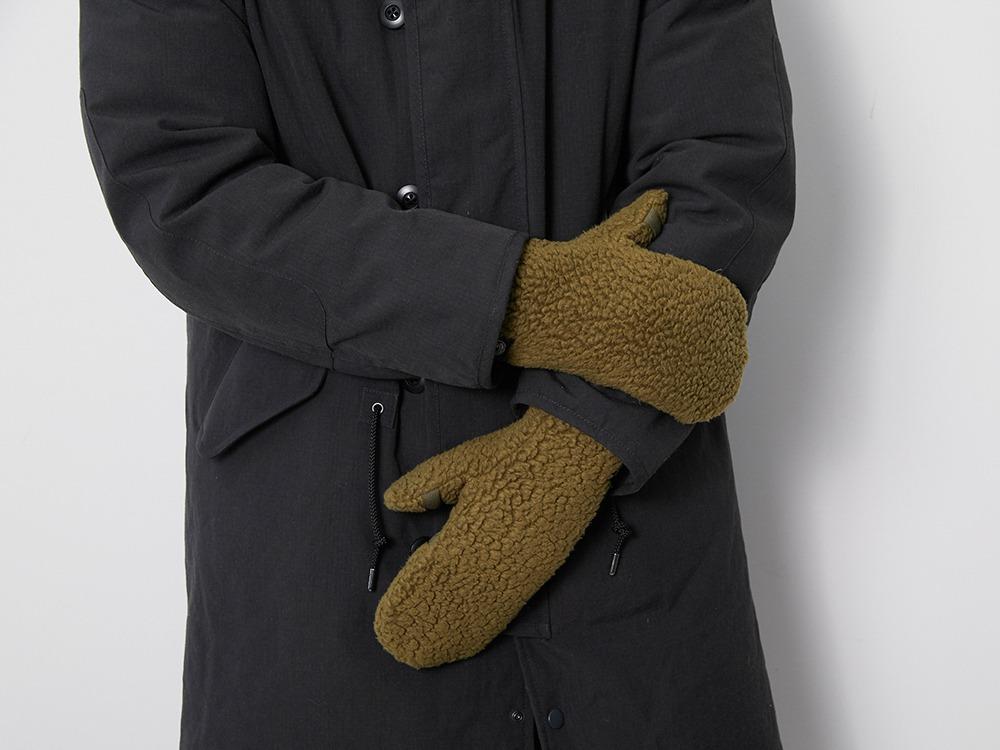Thermal Boa Fleece Handwarmer One Grey