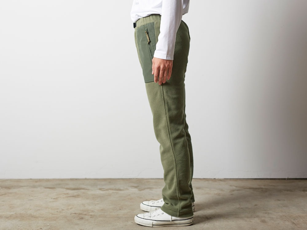R/Pe Fleece Pants M Olive2