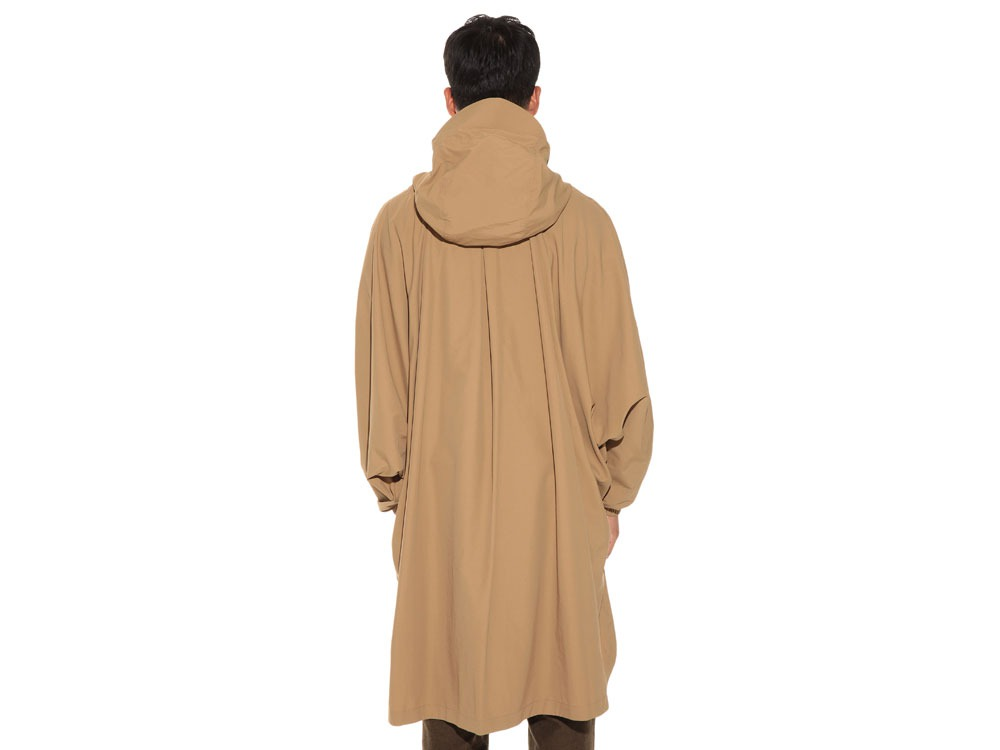 Camping Over Poncho M Beige4