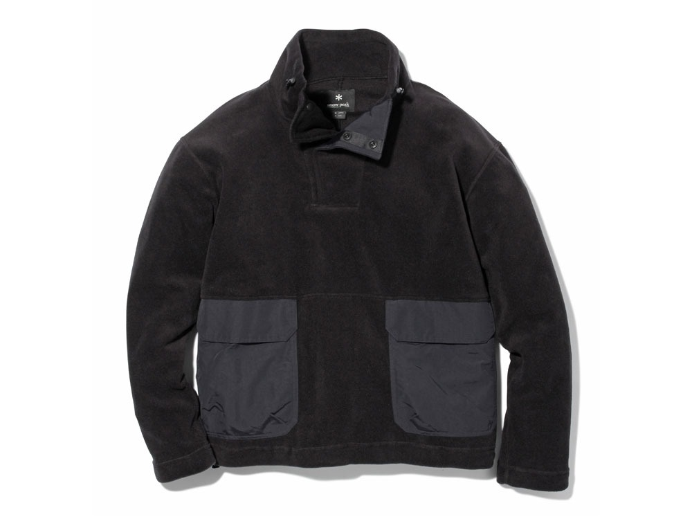 R/Pe Fleece Pullover1Black