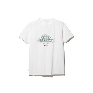 Lounge Shell Tee L White