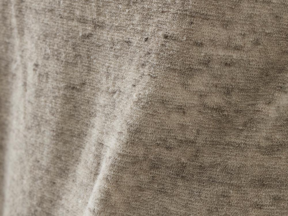 Linen Pile Tshirt M Ecru5
