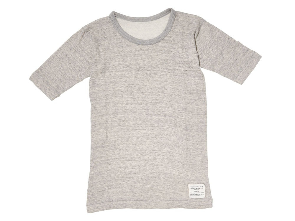 Ultimate Pima Double Knit Half Sleeve S M.Grey0