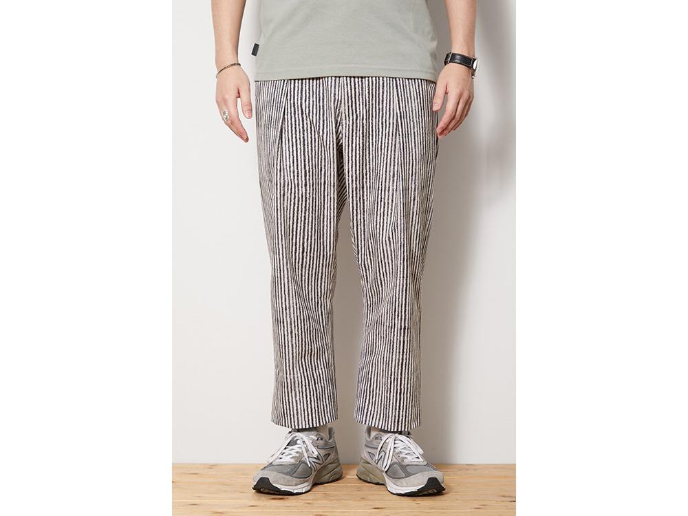 Printed Quick Dry Pants M EcruNavy