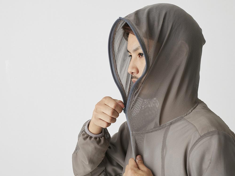 Insect Shield Parka S Grey7