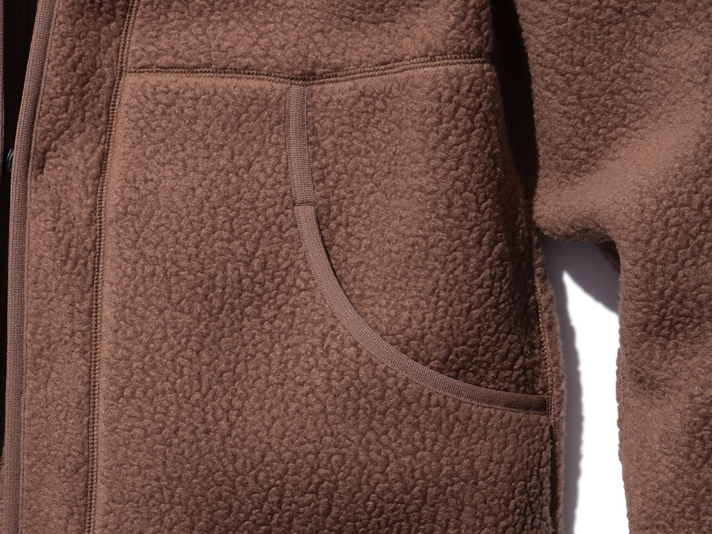 Thermal Boa Fleece Hanten M Brown