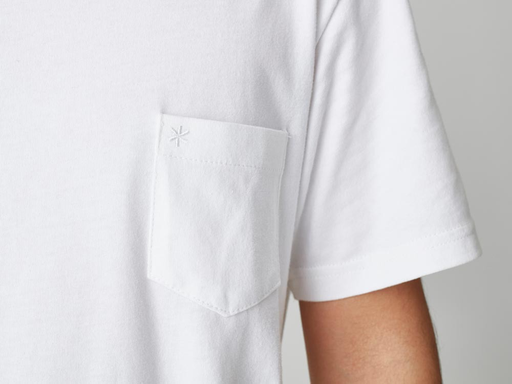 Pocket Tshirt L White5