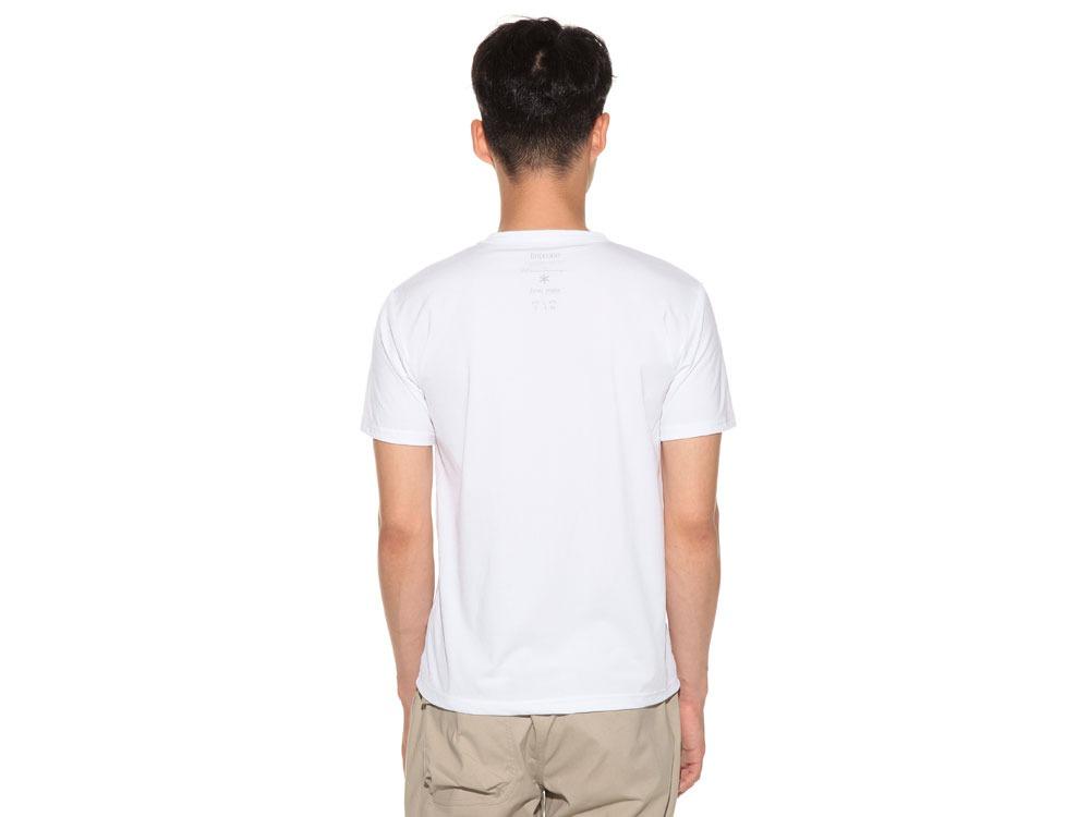 Natural Trompe I'oeil Tshirt L White4