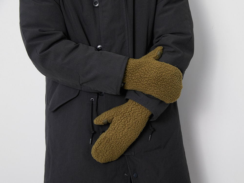 Thermal Boa Fleece Handwarmer One Brown