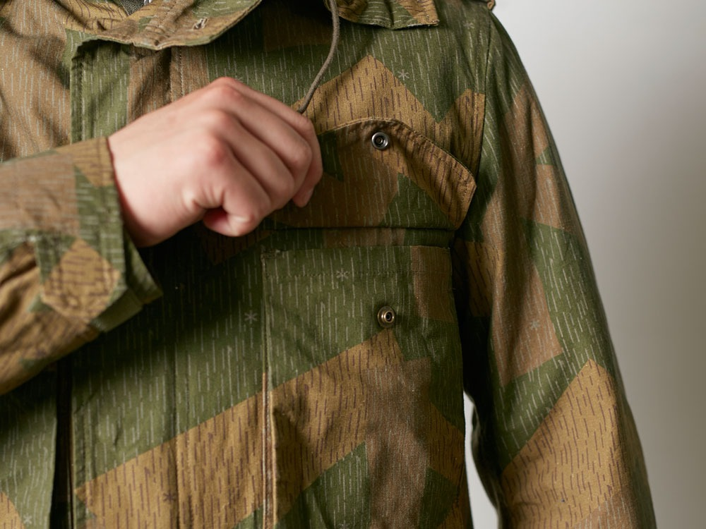 Printed Military Jacket XL Olive6