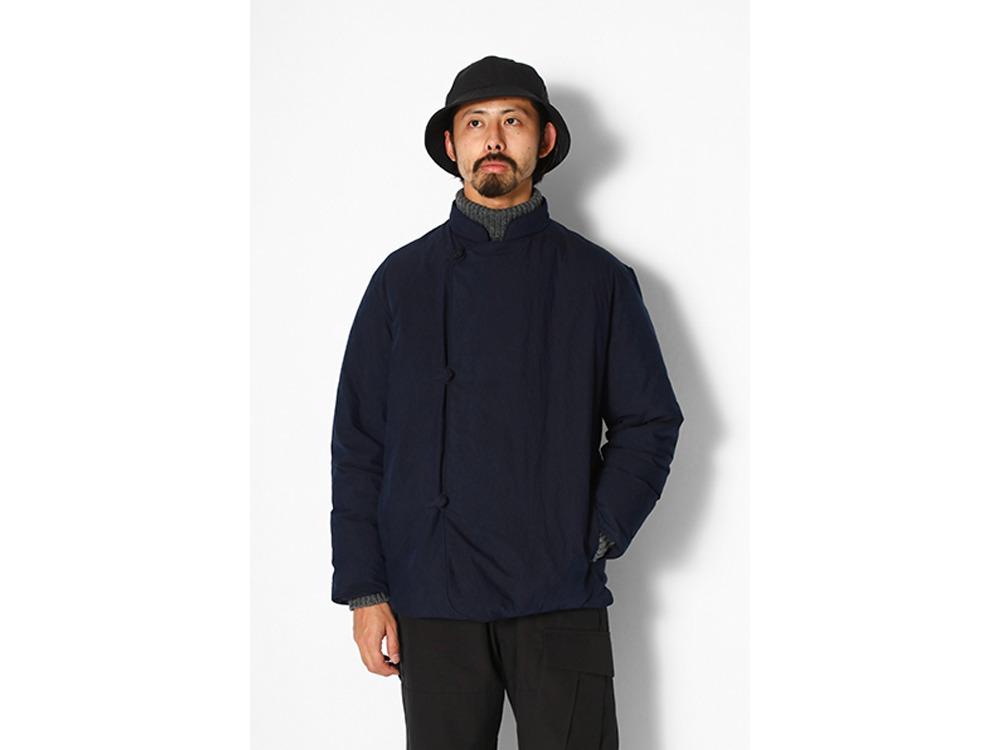 Indigo C/N Down Jacket M Indigo