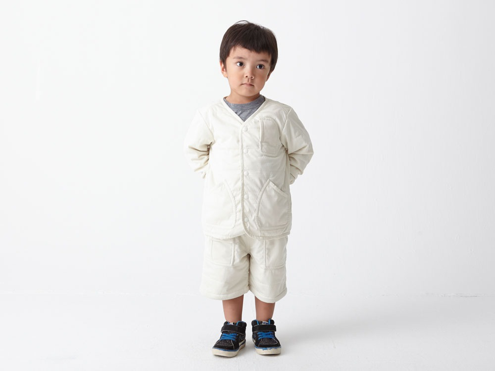 Kids Flexible Insulated Cardigan 3 White6