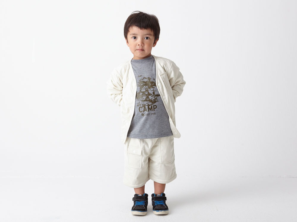 Kids Flexible Insulated Cardigan 1 Grey1