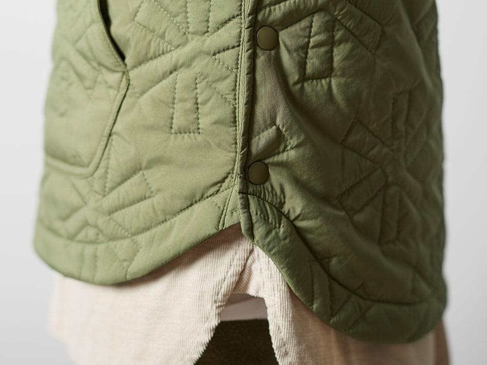Quilting puff Vest 2 Olive5