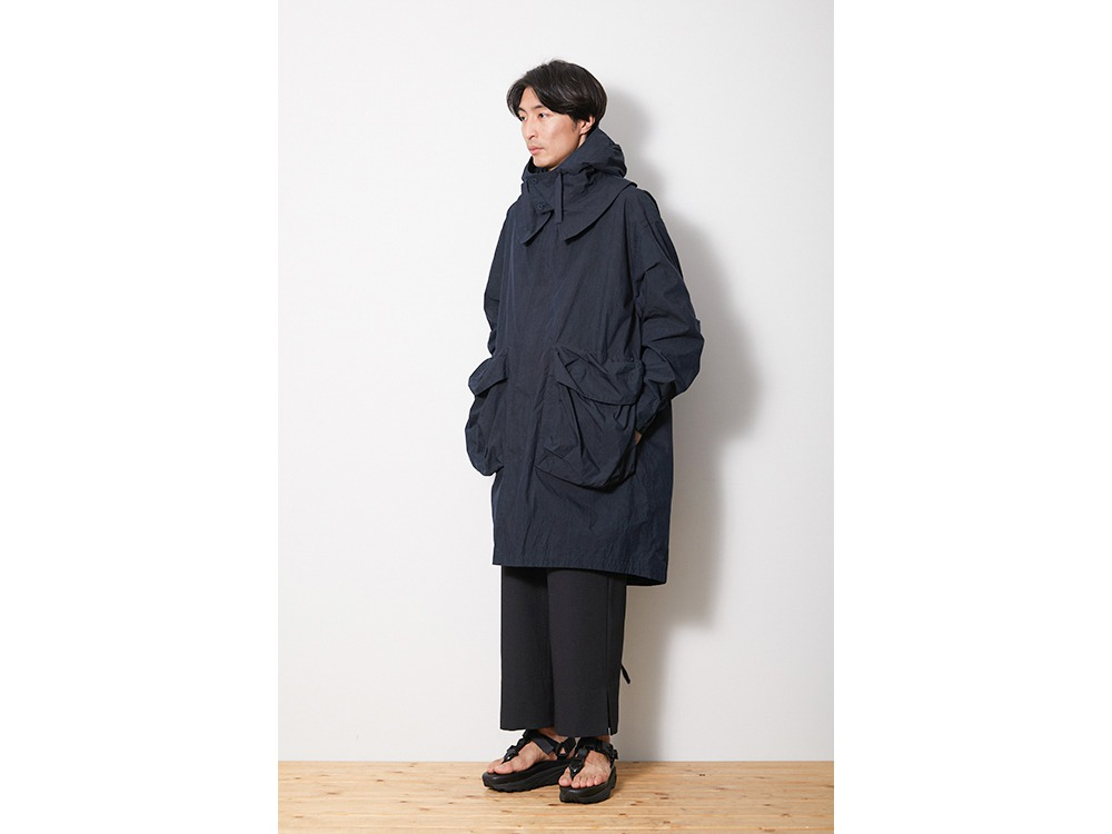 Indigo C/N Coat M Black