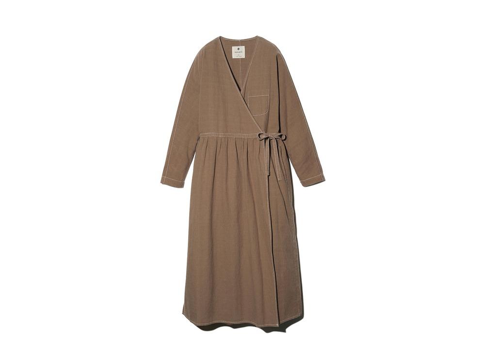 ナシジ ラップドレス 4 Brown