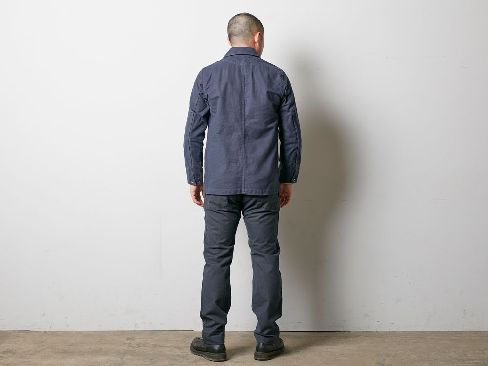 TAKIBI Coverall Jacket 2 Navy4