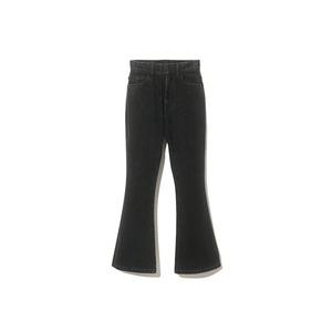 Three Pockets Black Jeans Pants Flare