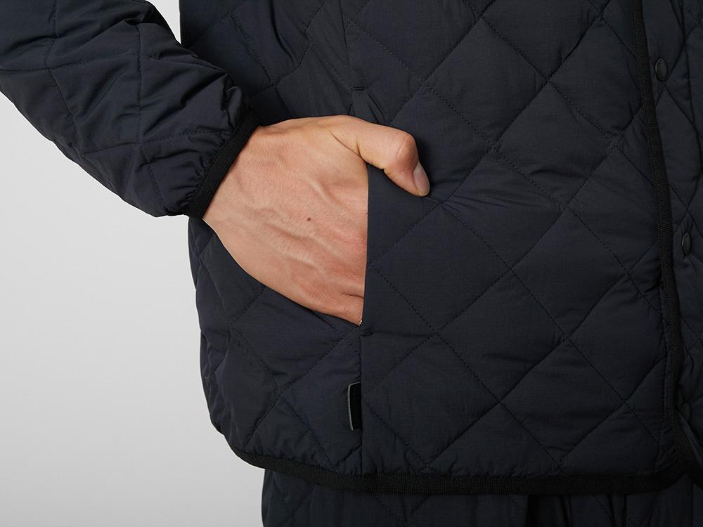 Recycled Ny Ripstop Down Cardigan XL BK