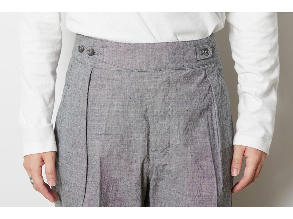 ノラギ ワイドパンツ XL Grey