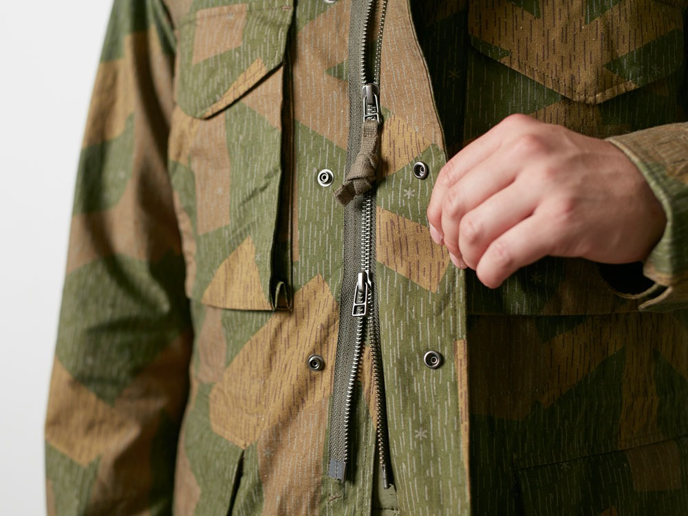 Printed Military Jacket L Khaki7