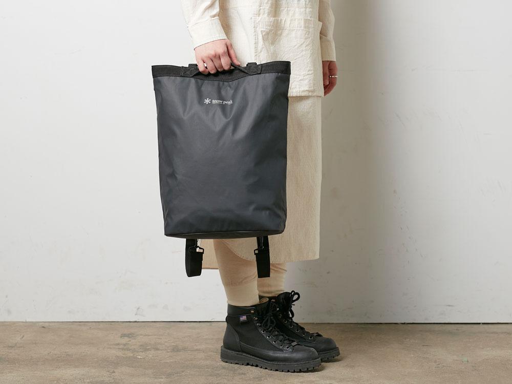 2wayトートバッグ ブラック