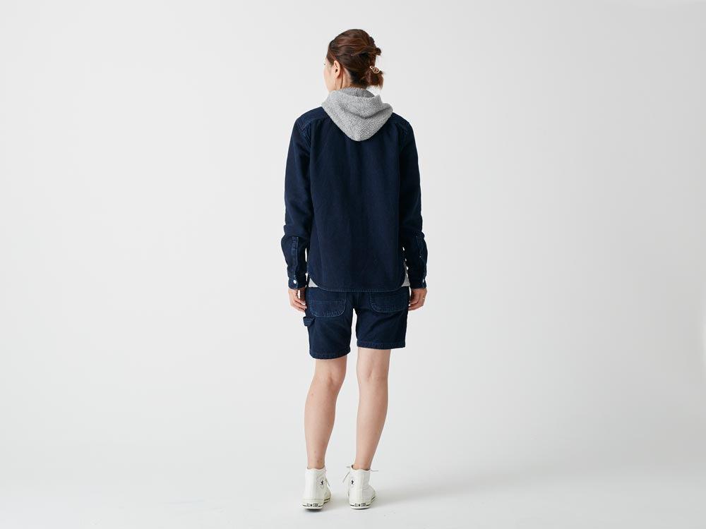 Okayama OX Shirts 1 Indigo3