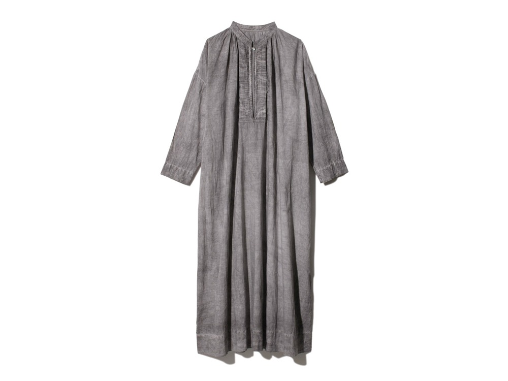 Hand-woven Cotton Pleated Dress 2 SUMI