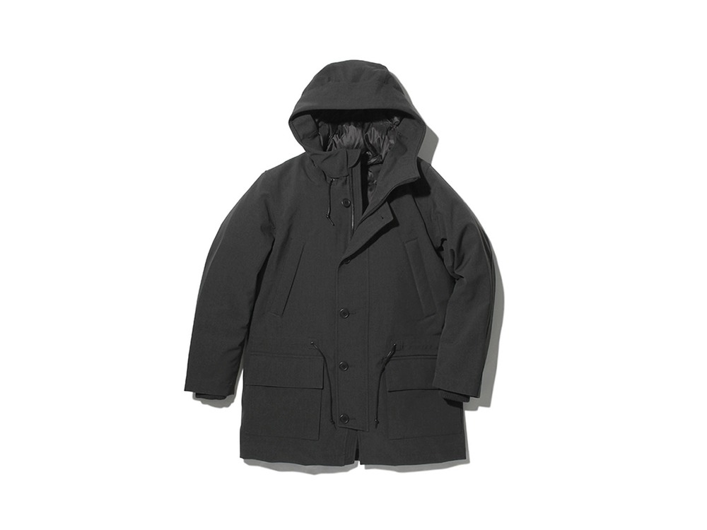TAKIBI Down Jacket XL Black