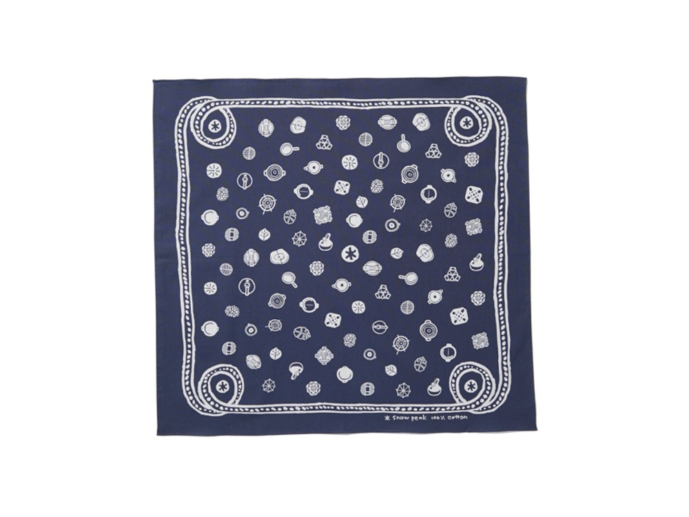 Cotton SP Dot Bandana One Navy