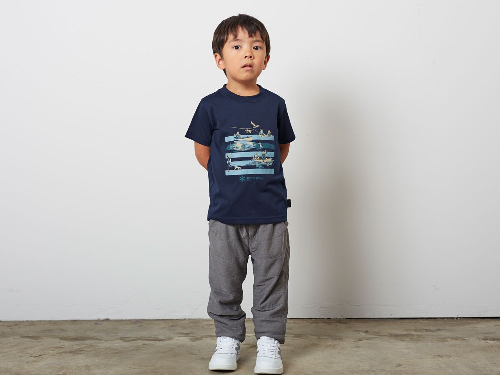 Kid'sQuickDryTshirt/Field3 M.grey1