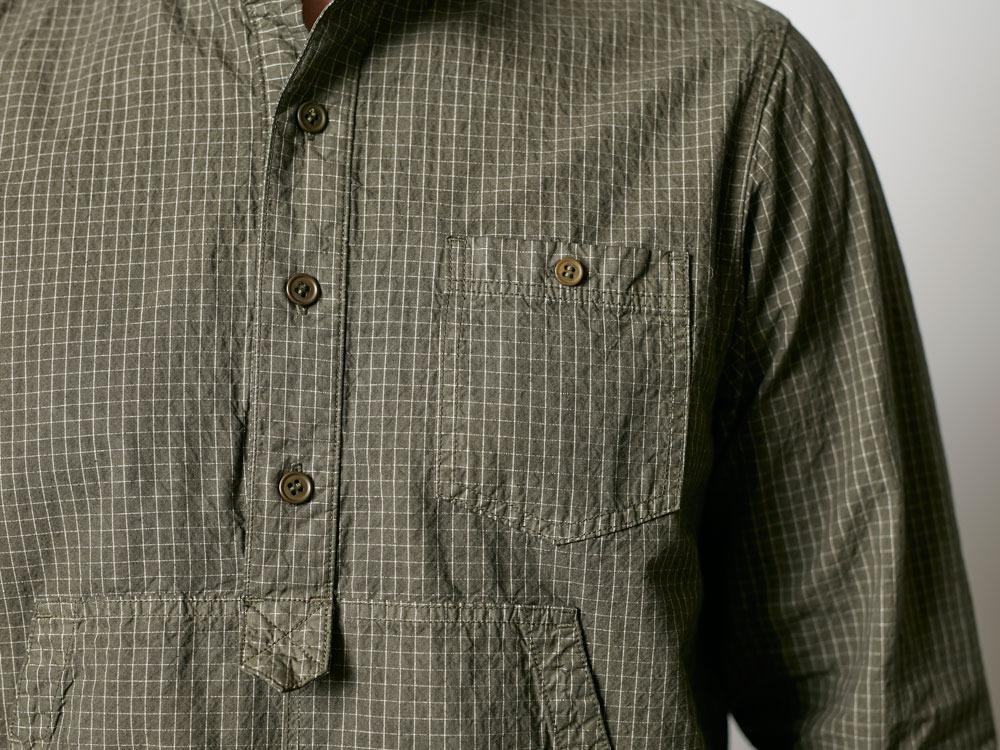 Organic Rip Stop Shirt 1 Olive7