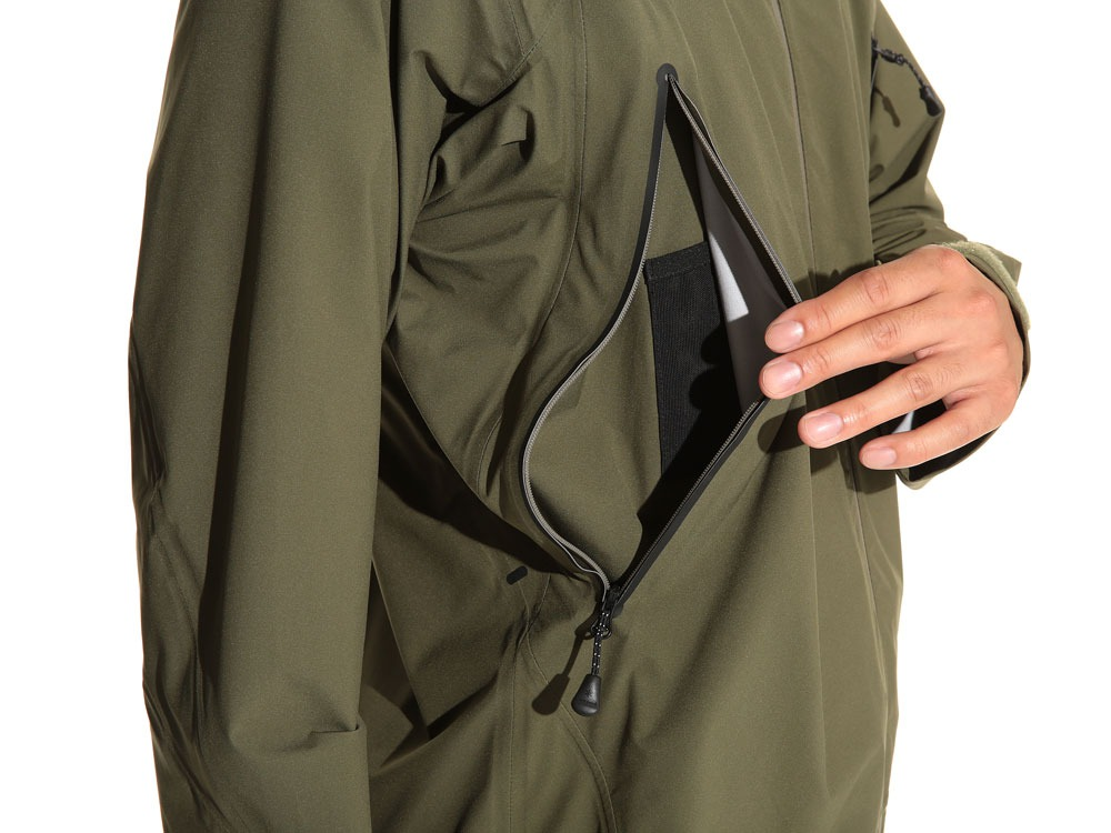 3L Light Shell Jacket S Olive7